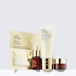 Choose Free 7-Piece Gift+ Advanced Night Repair Trio with $75 gift sets purchase @ Estee Lauder