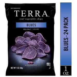 TERRA 海盐紫薯薯片 1 oz. 24包