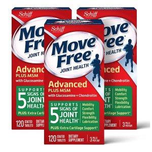 低至8折 鱼油+磷虾油$17/瓶Schiff 旗下保健品大促 收Move Free维骨力、MegaRed磷虾油
