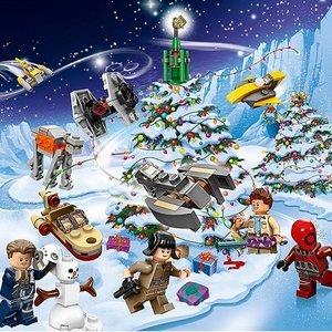 $40.23起 + 免邮 小朋友最爱Lego Advent Calendar 节日日历系列热卖