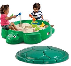销量冠军$44.86(原价$133.51)Little Tikes 儿童游戏带盖乌龟沙盒
