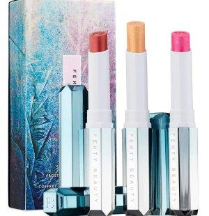 Snow Daze & Snow Nights Frosted Metal Lipstick 3-pc Set - FENTY BEAUTY by Rihanna | Sephora