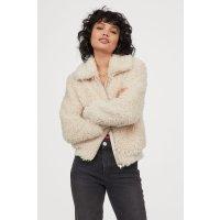 H&M 毛毛外套