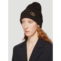 Gucci 条纹针织帽