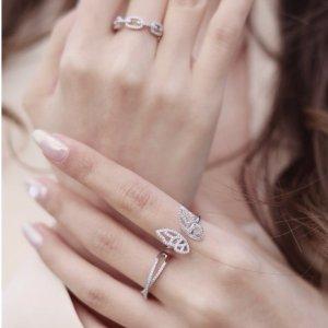 买2送1=变相6.7折Objekts 小众平价饰品 手链、戒指 bling bling 毫无抵抗力