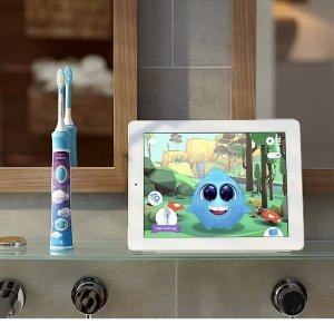 $44.99(原价 $59.99)Philips 飞利浦Sonicare HX6321/02 儿童声波电动牙刷