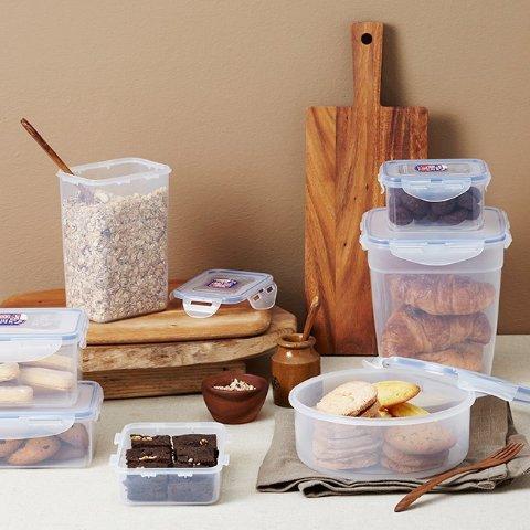 4.3折起 低至€2.99可收Lock & Lock 保鲜盒限时折 密封性卓越 食物分装储存不串味
