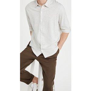 VinceLong Sleeve Button Down Shirt