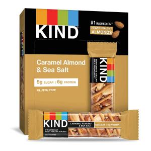 KIND 焦糖坚果海盐能量棒 1.4oz 12支