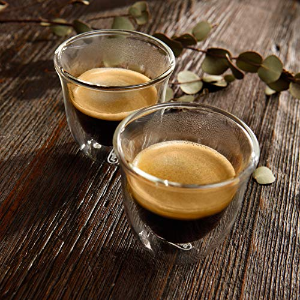 $11.63 销量冠军DeLonghi 双壁隔热咖啡杯 2个