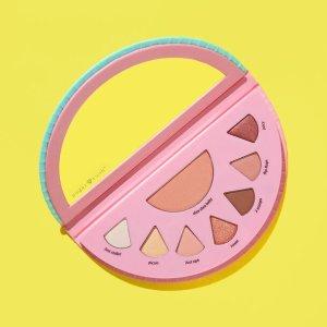 Tarte颜色超级日常!可爱西瓜!西瓜眼影盘