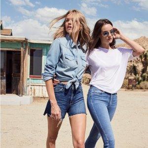 无门槛7折 折扣区也参加JOE'S Jeans官网 全场男女士服饰热卖
