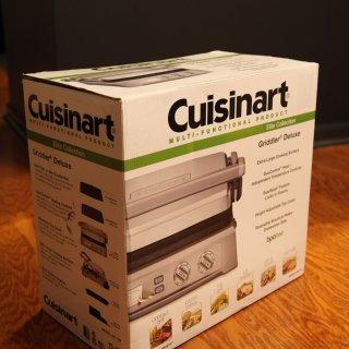 集电饼铛烧烤煎烤机为一身的【Cuisinart双面煎盘】超全面测评(多图慎入)