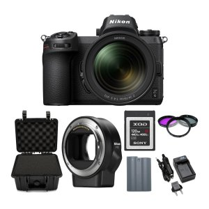 $2649.95Nikon Z6 Mirrorless Camera with 24-70mm Lens and 120GB XQD Card Bundle