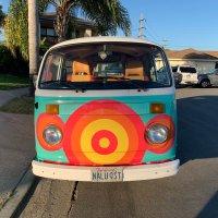 加州周边 1978年产 大众凸窗露营汽车