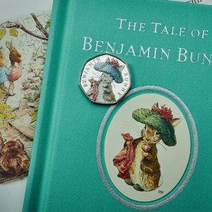 独家85折 新款纪念币、收藏邮票最后一天:Peter Rabbit、Harry Potter英国流量来袭