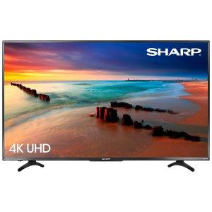 43吋电视低至$329Sharp 4K UHD LED 高清智能电视 多尺寸特卖