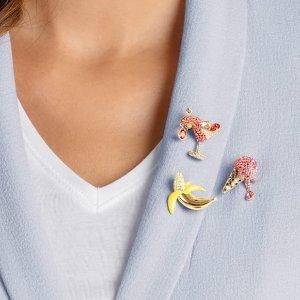 低至5折 小燕子手链$39上新:Swarovski Outlet 首饰热卖 收封面鸡尾酒胸针套装 小天鹅$44