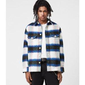 AllSaintsRayado 衬衫外套