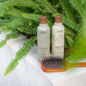 新人8.5折 送5件礼包+任意单免邮Aveda 洗护发品 必入发梳 防脱发、蓬松、控油 总有一款适合你