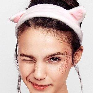$6.79(原价$9.99)白菜价:Dreamlover 猫耳朵发带3个装 $2.26/每个 洗脸必备神器