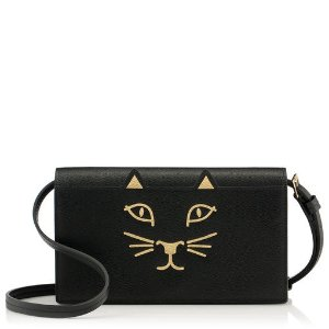 Charlotte OlympiaSmall Leather Goods - Wallets for Women |- LONG FELINE PURSE