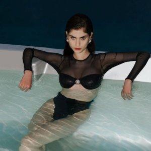 低至5折+免所有税费Luisaviaroma 泳衣专场 $543到手价收Alessandra Rich封面泳衣