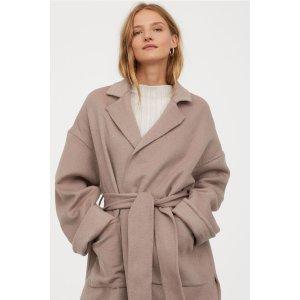 H&M羊毛大衣