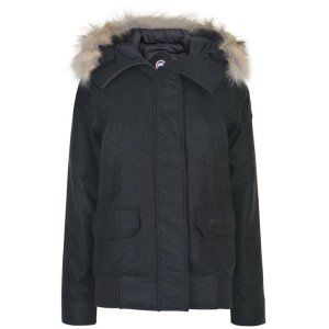 CANADA GOOSE BLACK LABEL黑标短羽绒服