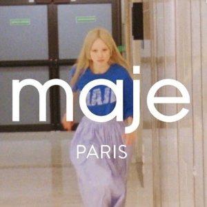 低至6折 €150收小黑裙Maje 精选专场大促 收春夏最美法风穿搭 街头C位就是你