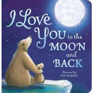 $7.52 (原价$10.99)宝宝睡前故事《I Love You To The Moon And Back 我爱你到地老天荒》