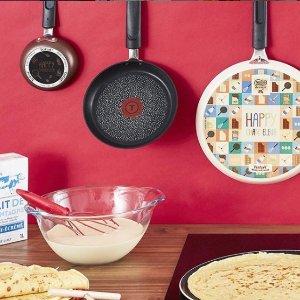 现价£33.75(原价£45)Tefal 锅具套组 新生厨房刚需 炒煎煮炖一波搞定