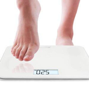 6折起! £8入数字体重秤Amazon 体重秤 智能多功能款 控制体重 高效减脂
