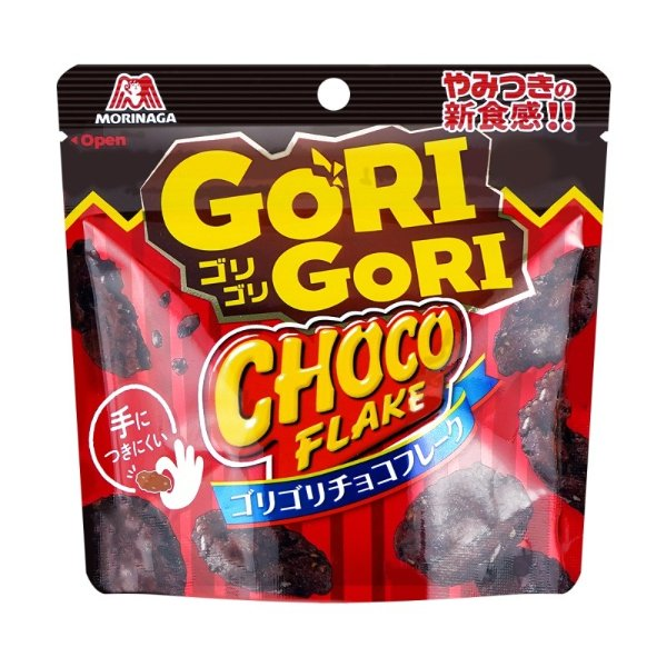 MORINAGA森永 巧克力味小脆 燕麦杏仁添加 27g