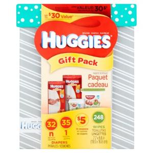 $24.27Huggies好奇 新生宝宝纸尿裤湿巾礼盒