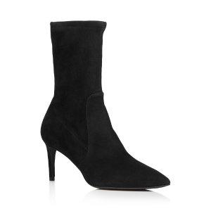 Stuart Weitzman每满$171.6减$34.32Women's Wren Pointed Toe 高跟靴