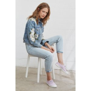 Rebecca TaylorLa Vie Floral Embroidered Jacket