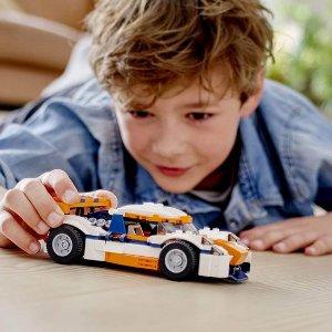 $14(原价$24.99)补货:LEGO 乐高 31089 创意百变系列 三合一 日落场地赛车