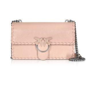 PinkoLove Twist Leather Shoulder Bag