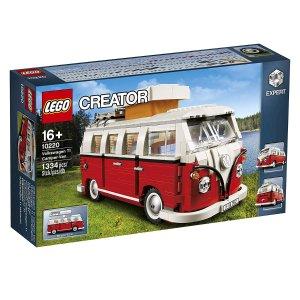 $99(原价$169)速度抢白菜价:LEGO乐高 1962年经典款大众T1露营车