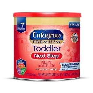 EnfagrowToddler Next Step Natural Milk Powder - 24oz