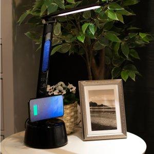 $49.99 已开奖LumiCharge T2W LED变光台灯,超省空间的留学生卧室神器