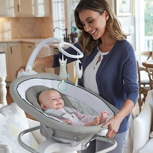 $182.1Graco Sense2Soothe Baby Swing with Cry Detection Technology, Sailor