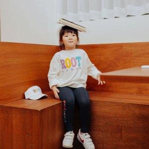 低至5折 $15收拼色长袖上新:Roots 平价舒适童装精选 $20起收多款T恤