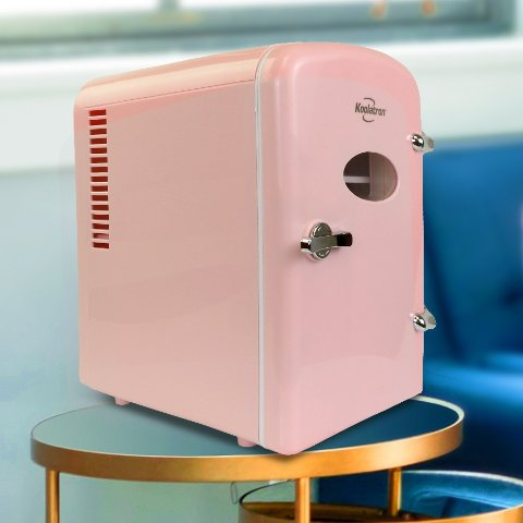 Koolatron 6 Can AC/DC Retro Mini Cooler