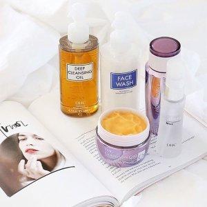 低门槛送橄榄油唇膏+套装7.5折DHC官网 美容护肤品促销 收深层洁净卸妆油
