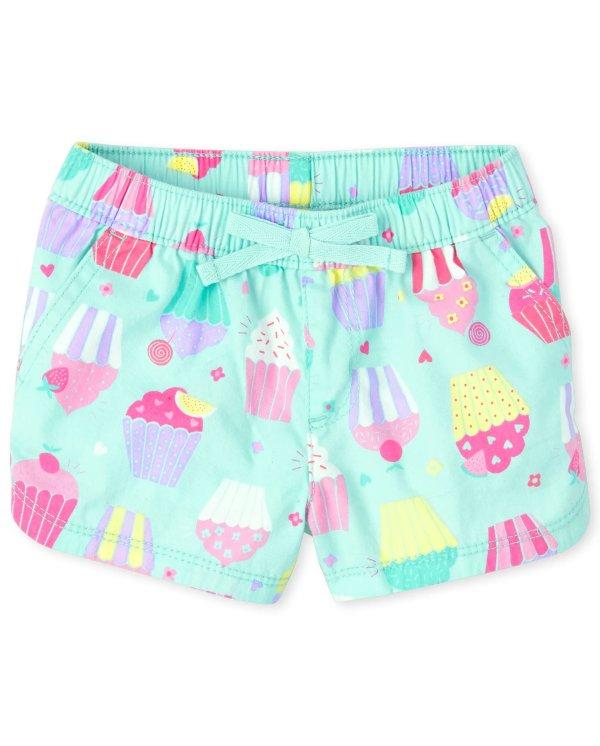 婴幼儿印花短裤