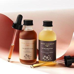 低至7折+ 额外9折SkinCareRx 精选Grow Gorgeous护发产品热卖