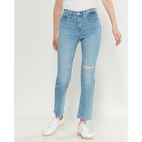 Levi's 724 高腰直筒牛仔裤