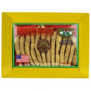 Long American Ginseng Medium Small 4oz box